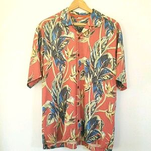 Tommy Bahama Silk Tropical Hawaiian Style …